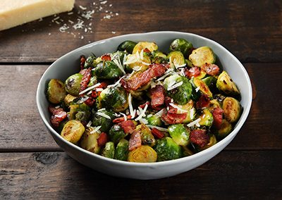 Brussel Sprouts with Country Maple Bacon