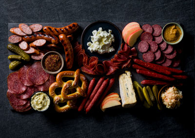 German Charcuterie Board
