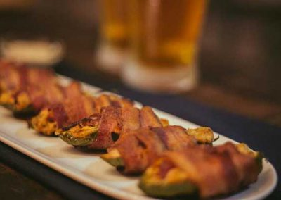 Bacon Pepper Poppers