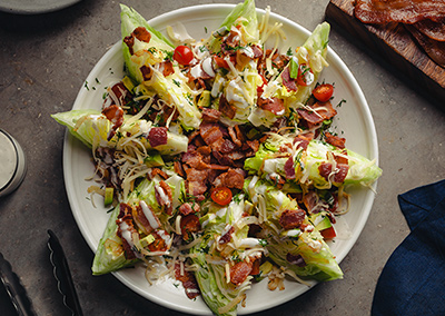 Bacon Wedge Salad