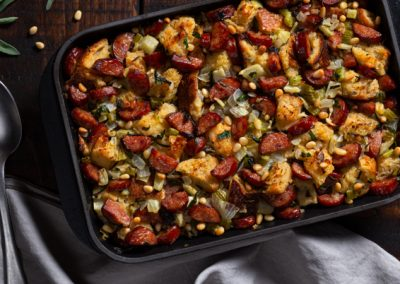 Spicy Sausage Stuffing