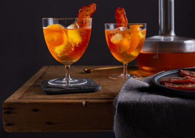 Maple Bacon Bourbon Old Fashioned