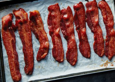 Caramelized Maple Bacon