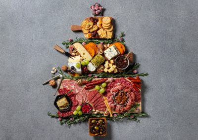 Festive Holiday Charcuterie Board